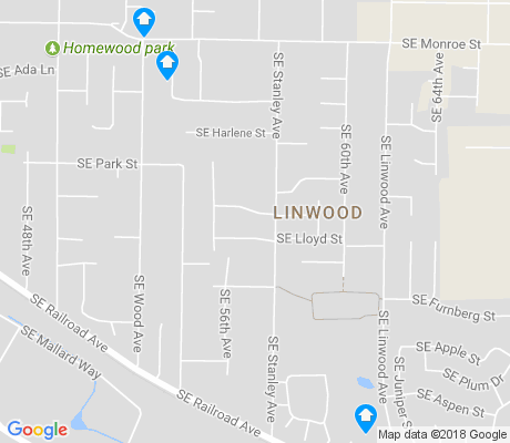 map of Linwood apartments for rent