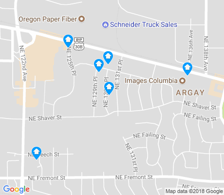 map of Argay apartments for rent
