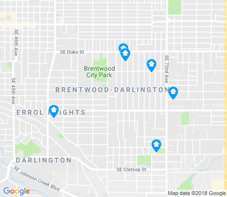 map of Brentwood-Darlington apartments for rent