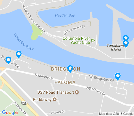 map of Bridgeton apartments for rent