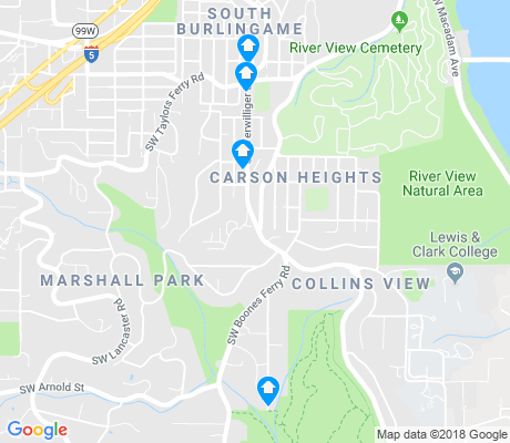 map of Collins View apartments for rent