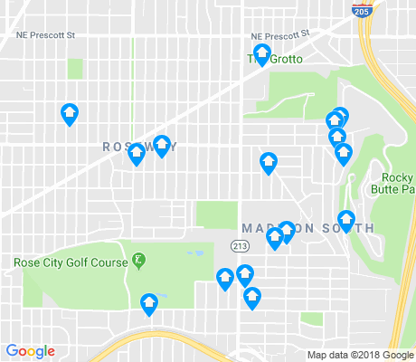 map of Madison South apartments for rent