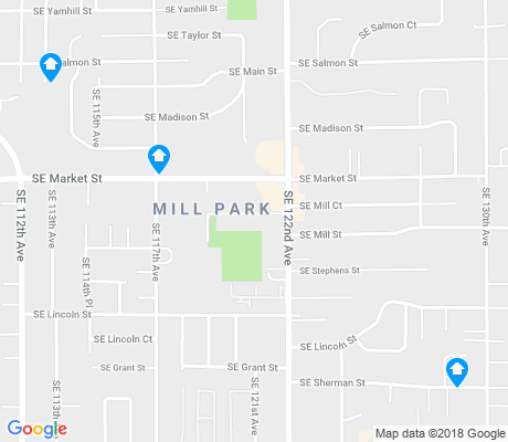 map of Mill Park apartments for rent