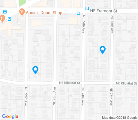 map of Roseway apartments for rent