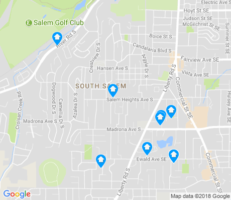 map of South Salem apartments for rent