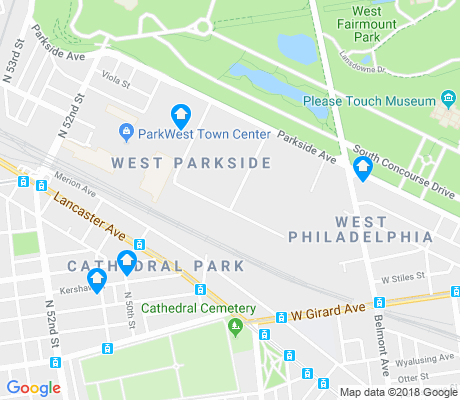 map of West Parkside apartments for rent