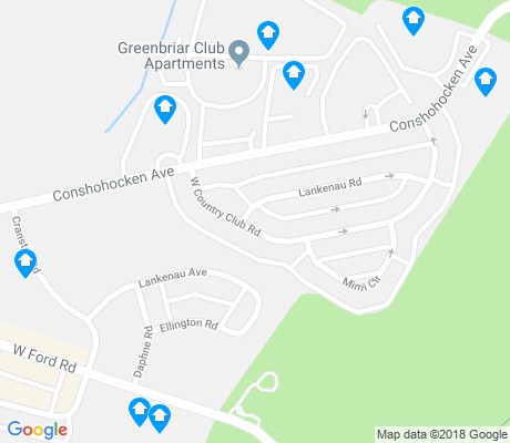 map of Wynnefield Heights apartments for rent