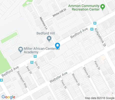 map of Middle Hill apartments for rent