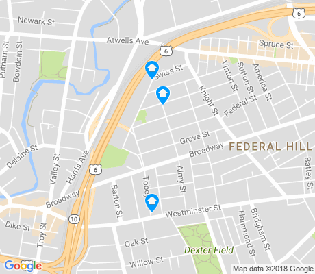 map of Olneyville apartments for rent