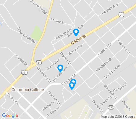 map of College Place apartments for rent
