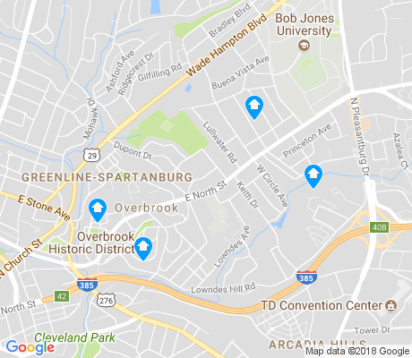 map of Overbrook apartments for rent