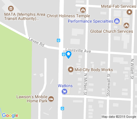 map of 40th Ward Civic Club apartments for rent