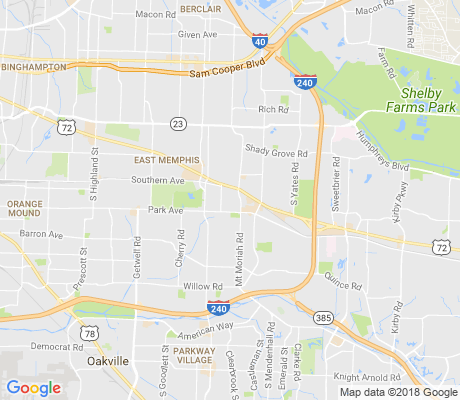 map of Colonial View Civic Club apartments for rent