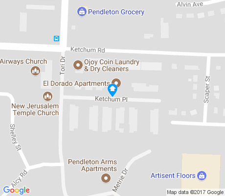 map of Fairhills apartments for rent