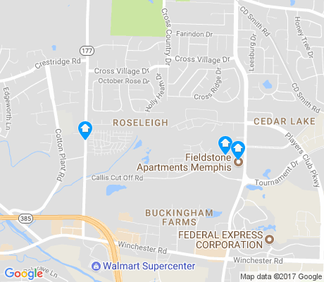 map of Roseleigh apartments for rent