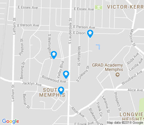 map of Sixty Point One Ward Civic Club apartments for rent