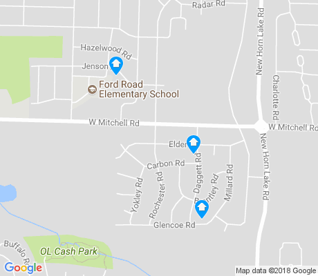 map of Walker apartments for rent
