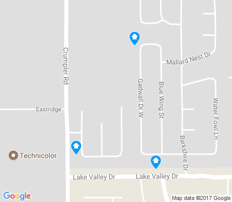 map of Whispering Meadows apartments for rent