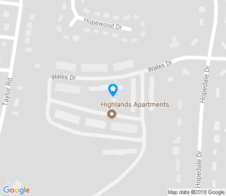 map of Beverly Heights apartments for rent
