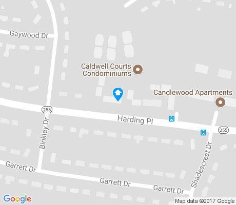 map of Caldwall apartments for rent