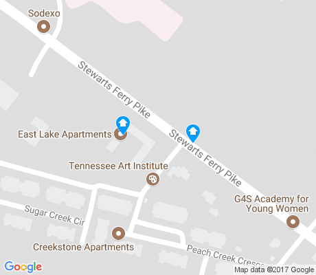 map of Cloverhill apartments for rent