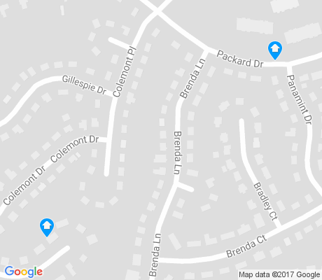 map of Haywood Forest apartments for rent