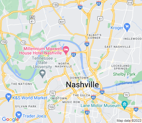 map of Salemtown apartments for rent