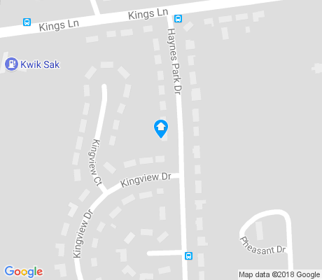 map of Troppard Heights apartments for rent
