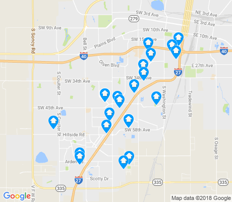 map of 79109 apartments for rent