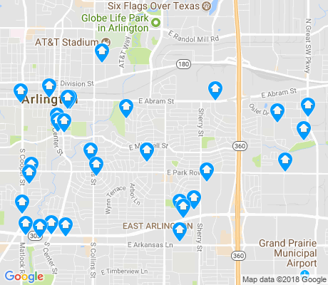 map of 76010 apartments for rent