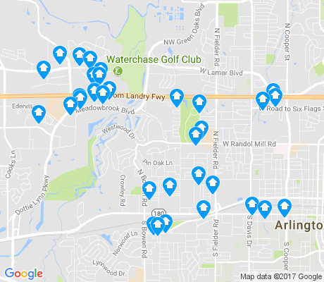 map of 76012 apartments for rent