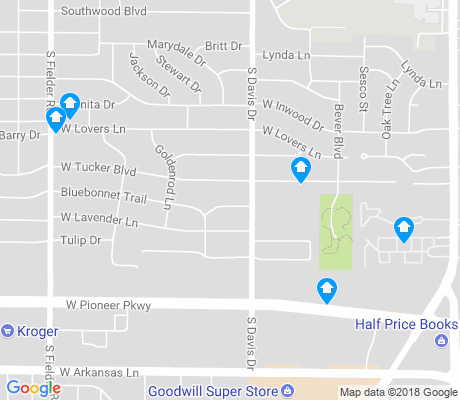 map of South Davis apartments for rent