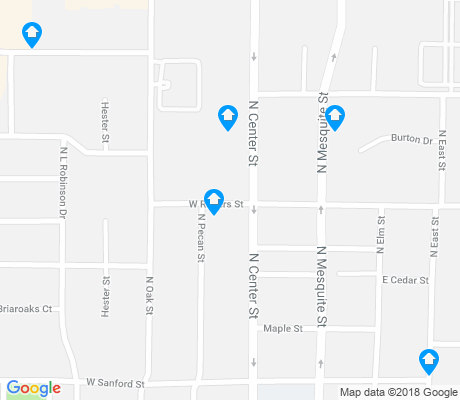 map of Town North apartments for rent