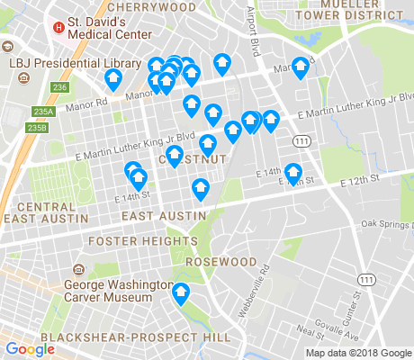 map of Rosewood apartments for rent