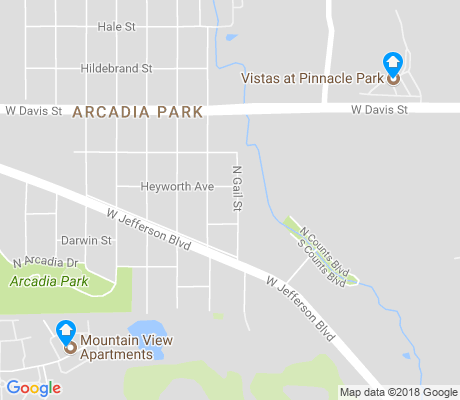 map of Cockrell Hill apartments for rent