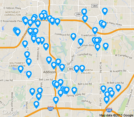 map of Far North apartments for rent
