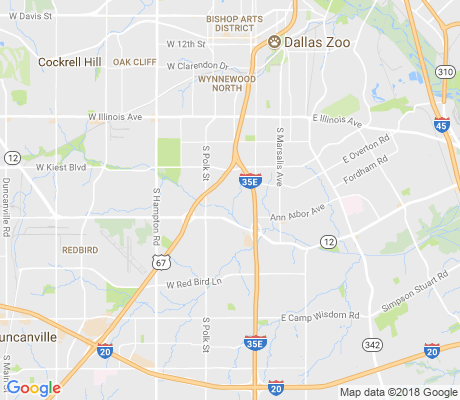 map of Five Mile Creek apartments for rent