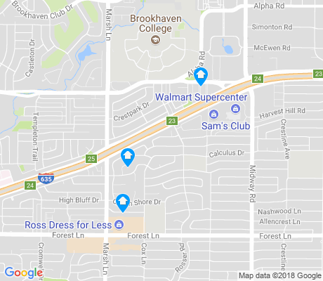 map of Glen Meadow Estates apartments for rent