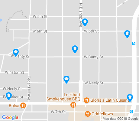 map of Kidd Springs apartments for rent