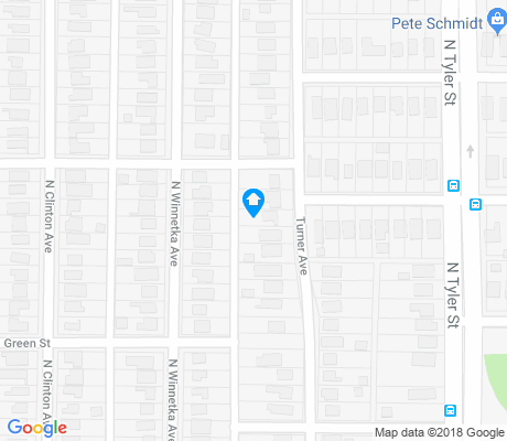 map of Kings Highway Conservation District apartments for rent