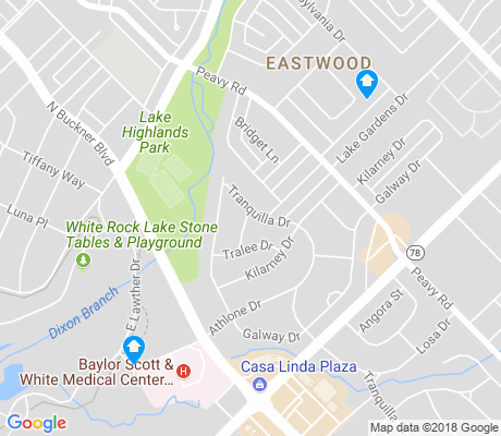 map of Lake Park Estates apartments for rent