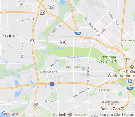 map of Ledbetter Gardens apartments for rent