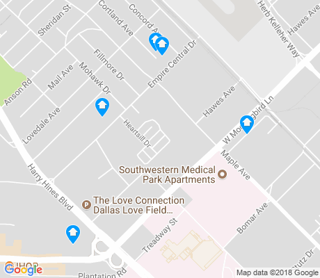 map of Lovefield West apartments for rent