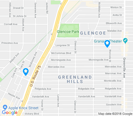 map of M Streets apartments for rent