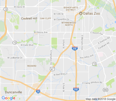 map of Oak Park Estates apartments for rent