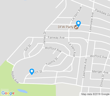 map of Parkdale-Lawnview apartments for rent