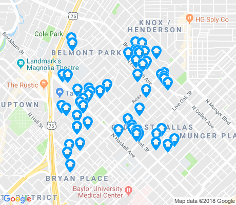 map of Roseland apartments for rent