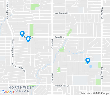 map of Westhollow apartments for rent