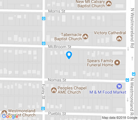 map of Westmoreland Heights apartments for rent