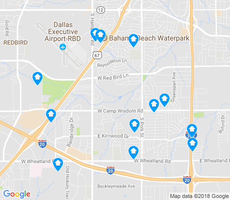 map of Wolf Creek apartments for rent